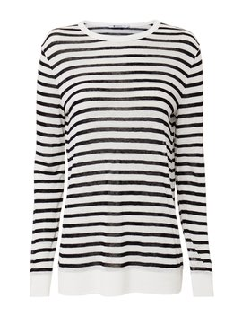 Striped Tee by T By Alexander Wang