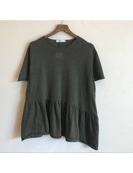 [Zara] Oversized Peplum Thin Knit Sweater Tee   Nwt by Zara