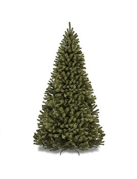 Best Choice Products 9ft Premium Spruce Hinged Artificial Christmas Tree W/Easy Assembly, Foldable Stand   Green by Best Choice Products