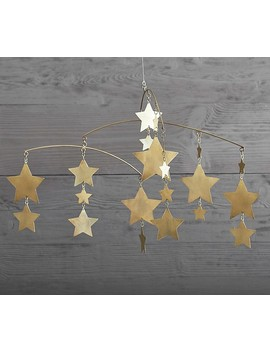 Emily & Meritt Metal Star Mobile by Pottery Barn Kids