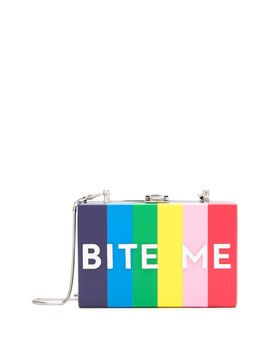 Bite Me Box Clutch by Milly