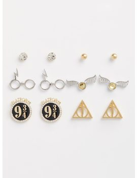 Harry Potter Earrings   Set Of 6 by Torrid