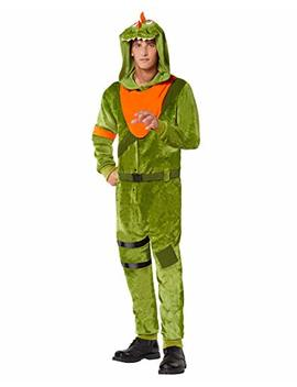 Adult Fortnite Plush Rex Costume by Spirit+Halloween