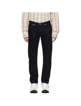 Indigo Petite Standard Jeans by A.P.C.