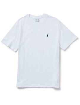 Cotton Jersey Crewneck T Shirt (8 14 Years) by Polo Ralph Lauren