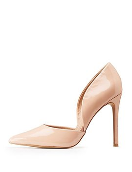 Patent Leather D'orsay Pumps by Charlotte Russe