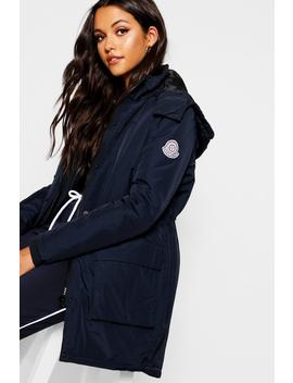 Sporty Parka With Detachable Gilet by Boohoo