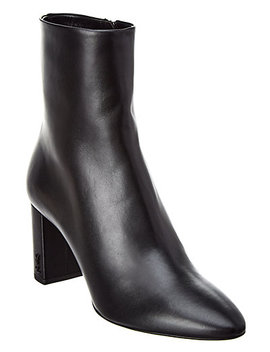 Saint Laurent Lou Leather Bootie by Saint Laurent