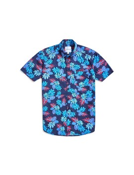 Oversize Fit Hibiscus Print Shirt by The Idle Man