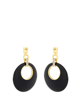 Lenox Disc Earring by Henri Bendel