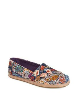 Printed Alpargata Flats by Toms