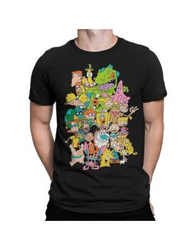Nickelodeon 90's Cartoons Art T Shirt, Old School Tee, Men's Women's All Sizes by Etsy