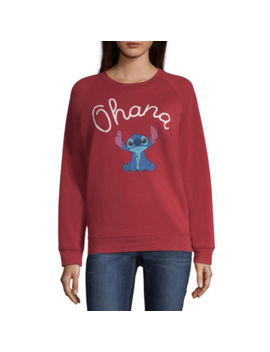 "Stitch ""Ohana"" Sweatshirt   Juniors by Mad Engine"