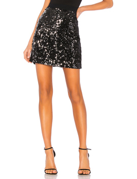 Ready For The Night Sequins Mini Skirt by Sanctuary