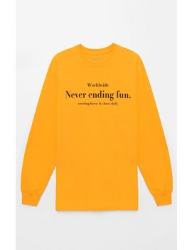 Pac Sun Never Ending Long Sleeve T Shirt by Pacsun