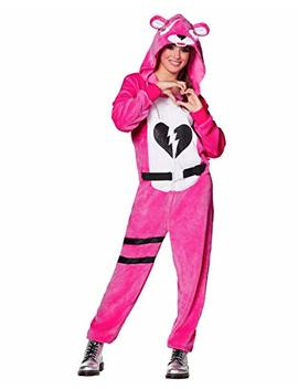 Spirit Halloween Adult Fortnite Plush Cuddle Team Leader Costume by Spirit+Halloween