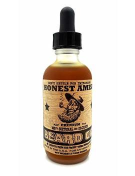 Honest Amish   Premium Beard Oil   2 Ounce by Honest Amish