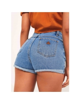 A High Relaxed Shorts   La Blues by Peppermayo