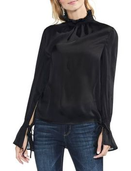 Flare Tie Cuff Blouse by Vince Camuto