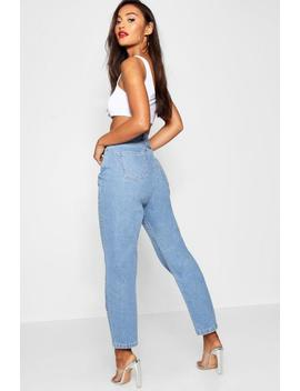 Petite Straight Leg Jeans by Boohoo