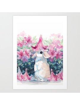 Azalea Art Print by