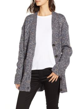 Point Sur Patch Pocket Oversize Cardigan by J.Crew