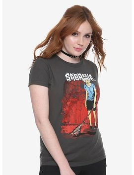 Archie Comics Chilling Adventures Of Sabrina Pentagram Girls T Shirt by Hot Topic