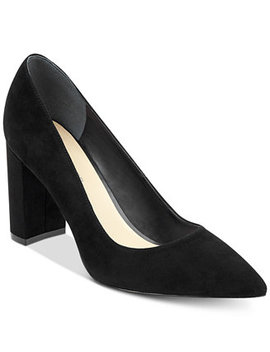 Viviene Block Heel Pumps by Marc Fisher