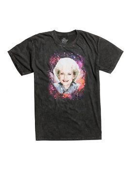 Golden Girls Rose Galaxy Tie Dye T Shirt by Hot Topic