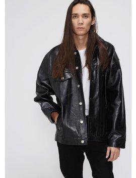 Oversized Leather Jacket by Martine Rose