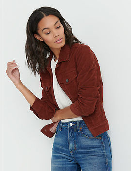 The Tomboy Corduroy Trucker by Lucky Brand