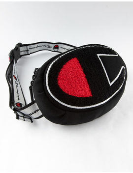 Champion Prime Black Fanny Pack by Champion