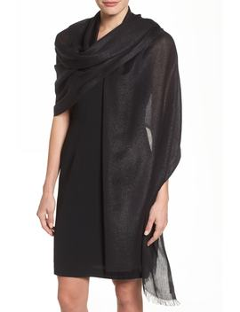 Metallic Lightweight Wrap by Nordstrom