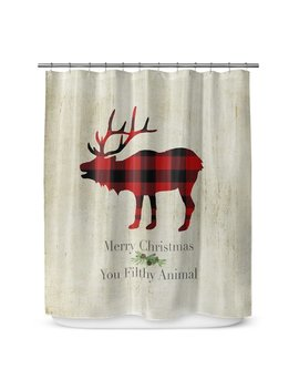 "Kavka Filthy Animal 72"" Shower Curtain by Kavka Designs"