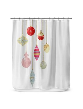 "Kavka Christmas Bling 72"" Shower Curtain by Kavka Designs"