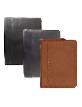 Piel® Leather 12.5 Inch Classic Zippered Padfolio by Bed Bath And Beyond