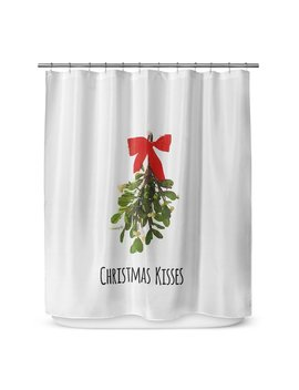 "Kavka Christmas Kisses 72"" Shower Curtain by Kavka Designs"