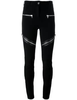 Zip Detail Trousers by Givenchy