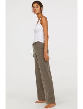 Pantaloni De Cașmir by H&M