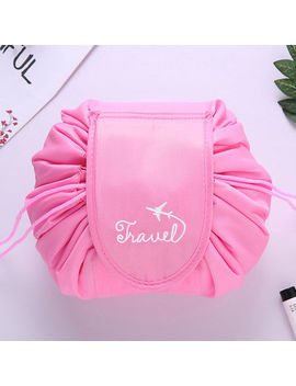 Portability Magic Travel Pouch Cosmetic Bag Makeup Bags Storage Pouch Drawstring by Unbranded
