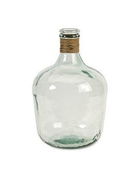 Imax 84508 Boccioni Glass Jug In Small – Storage Container For Fermenting, Serving/Storing – Sustainable, Handcrafted Display Jars. Decorative Accessories by Imax
