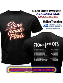 Limited Stone Temple Pilots Tour Dates 2018 Logo On Black Tee Shirt S 5 Xl by Ebay Seller
