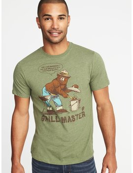 "Smokey The Bear™ ""Grill Master"" Tee For Men by Old Navy"
