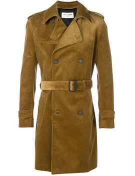 Corduroy Trench Coat by Saint Laurent