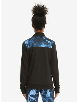 Supernatural Marble Print Girls Track Jacket by Hot Topic
