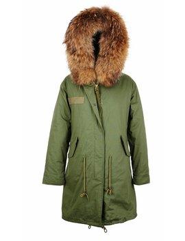 Raccoon Parka Fur Collar by Popski London
