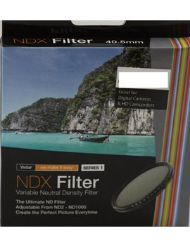 Vivitar 49mm Variable Nd 2 1000 Neutral Density Ndx Filter by Vivitar