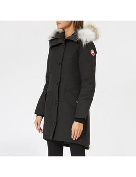 Canada Goose Women's Rossclair Parka   Black by Canada Goose