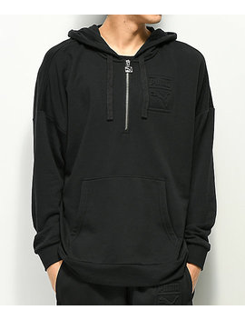 Puma Archive Embossed Black Hoodie by Puma