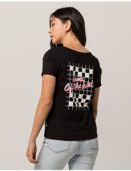 Vans Skimmer Vintage Checks Womens Tee by Vans